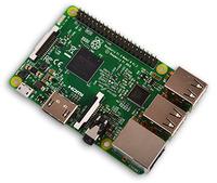 Raspberry Pi 3 Model B(UK製) (晶片升級版:BCM2837B0)-cover