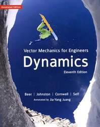 Vector Mechanics for Enginners : Dynamics, 11/e  (動力學導讀版) (授權經銷版)-cover