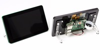 Frame for the raspberry pi 7 touchscreen display