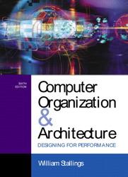 Computer Organization & Architecture: Designing for Performance, 6/e-cover