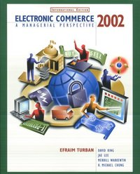 Electronic Commerce 2002: A Managerial Perspective, 2/e (IE-Paperback)-cover