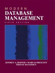 Modern Database Management, 6/e(平裝)-cover