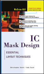 IC Mask Design: Essential Layout Techniques (亞洲平裝版) (美國版ISBN:0071389962)-cover
