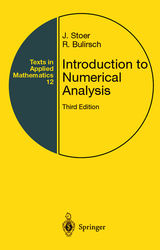 Introduction to Numerical Analysis, 3/e-cover