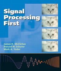 Signal Processing First (IE-Paperback)-cover