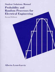 Probability and Random Processes for Electrical Engineering, 2/e (平裝)-cover