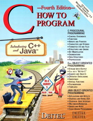 C How to Program, 4/e-cover