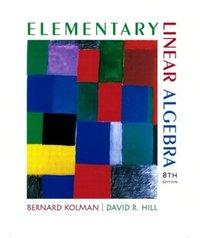 Elementary Linear Algebra, 8/e (IE-Paperback)-cover