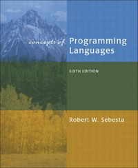 Concepts of Programming Languages, 6/e (平裝)-cover