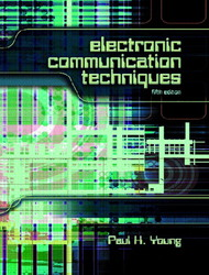 Electronic Communication Techniques, 5/e-cover