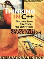 Thinking in C++, Vol. 2: Practical Programming, 2/e (Paperback)-cover