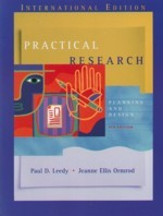 Practical Research: Planning and Design, 8/e-cover