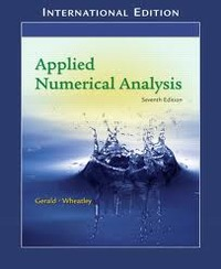 Applied Numerical Analysis, 7/e (IE-Paperback)-cover