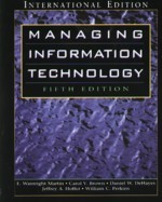 Managing Information Technology, 5/e (美國版ISBN:0131454439)