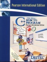 C++ How to Program, 5/e (美國版ISBN:0131857576)-cover