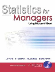 Statistics for Managers Using Microsoft Excel, 4/e (美國版0131073893)-cover