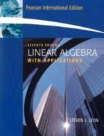 Linear Algebra with Applications, 7/e (IE) (美國版ISBN:0131857851)-cover