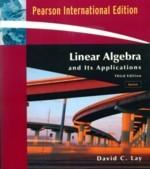 Linear Algebra and Its Applications, 3/e Update (IE) (美國版ISBN:0321287134)-cover