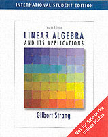 Linear Algebra and Its Applications, 4/e (Paperback)-cover