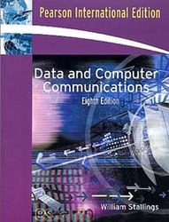Data and Computer Communications, 8/e (IE-Paperback)-cover