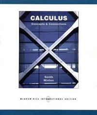 Calculus: Concepts and Connections (Paperback)