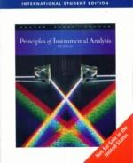 Principles of Instrumental Analysis, 6/e (IE) (美國版ISBN:0495012017)-cover