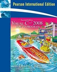 Visual C++ 2008: How to Program, 2/e (IE-Paperback)-cover
