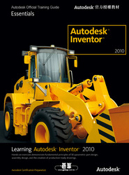 Inventor 2010 Autodesk Official Training Guide-cover