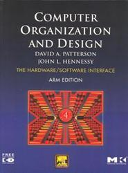 Computer Organization and Design: The Hardware/Software Interface, 4/e (ARM Edition) (Paperback)-cover
