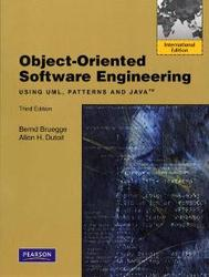 Object-Oriented Software Engineering: Using UML, Patterns and Java, 3/e (IE-Paperback)-cover
