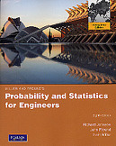 Miller and Freund's Probability and Statistics for Engineers, 8/e (IE-Paperback)-cover