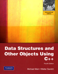 Data Structures and Other Objects Using C++, 4/e (IE-Paperback)-cover