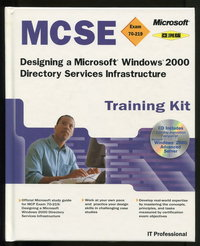 MCSE Training Kit (Exam 70-219): Designing a Microsoft Windows 2000 Directory Services Infrastructure <亞洲版>-cover