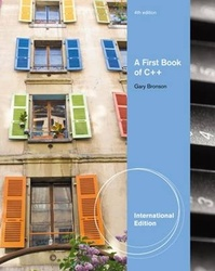 A First Book of C++ : From Here to There, 4/e (IE-Paperback)