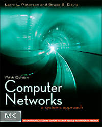 Computer Networks: A Systems Approach, 5/e (IE-Papbrback)-cover