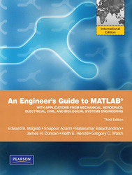 An Engineer's Guide to MATLAB, 3/e (IE-Paperback)-cover