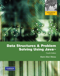 Data Structures and Problem Solving Using Java, 4/e (IE-Paperback)-cover
