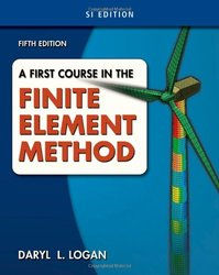 A First Course in the Finite Element Method, SI Version (Paperback)-cover