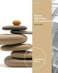 Discrete Mathematics with Applications, 4/e (IE-Paperback)-cover