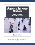 Business Research Methods, 11/e (IE-Paperback)-cover
