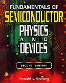 Fundamentals of Semiconductor Physics and Devices, 2/e (IE-Paperback)-cover