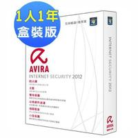 AVIRA Internet Security 2012 小紅傘網路安全大師 2012【繁體中文版】(1PC1年盒裝版)-cover