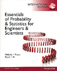 Essentials of Probability & Statistics for Engineers & Scientists (IE-Paperback)-cover