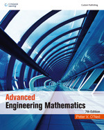 Advanced Engineering Mathematics, 7/e (Custom Edition) (Paperback)-cover