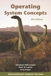 Operating System Concepts With WileyPLUS Set, 8/e (IE-Paperback)-cover