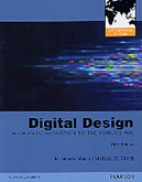 Digital Design: With an Introduction to the Verilog HDL , 5/e【內含註冊碼,經刮除不受退】 (IE-Paperback)-cover