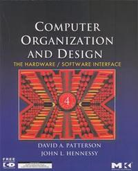 Computer Organization and Design: The Hardware/Software Interface, 4/e (IE-Paperback)-cover