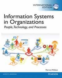 Information Systems in Organizations: People, Technology, and Processes (Paperback)-cover
