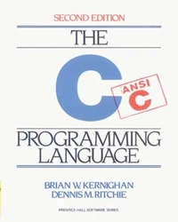 The C Programming Language, 2/e (IE-Paprback)-cover