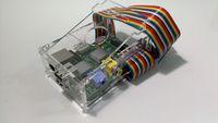 Raspberry Pi 六片式壓克力外殼(附散熱片)-- 一代 Pi 1 專用, B+以後不適用-cover